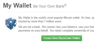 Создание кошелька блокчейн