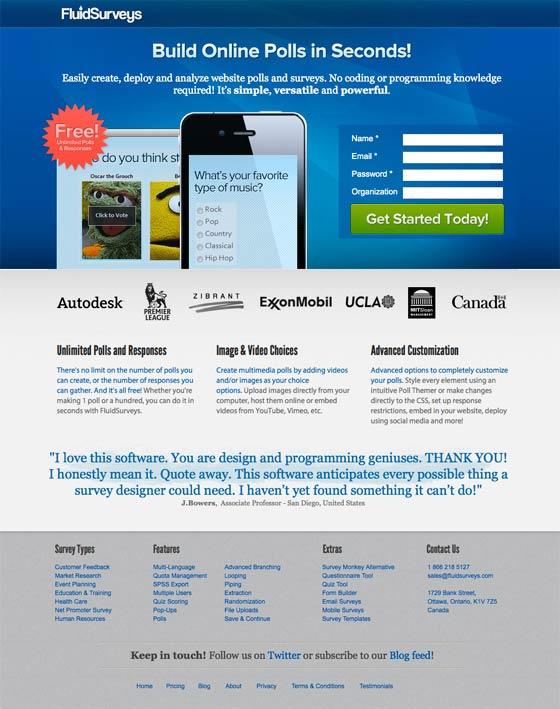 посмотрите landing page примеры