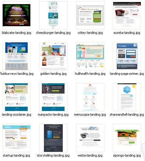Landing page шаблоны архив торрент