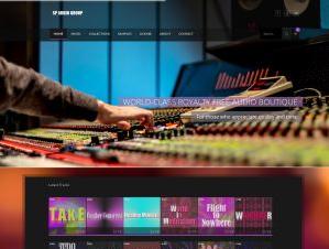 Музыкальный сайт