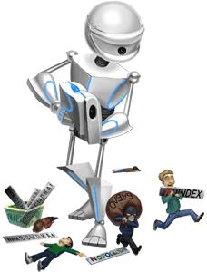 Робот для контроля ссылок.