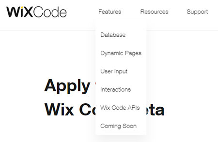 Wix Code - новый продукт от wix для разработчиков