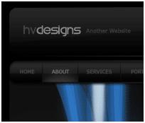 Скрин готового сайта в фотошопе